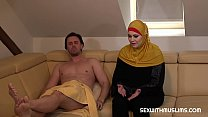 A Muslim whore began to prepare lunch late. Her...