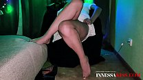 Hot Girl Sensual Fingering Pussy during Watchin...