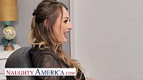 Naughty America - Natasha Starr gets pounded in...
