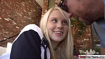 College babe Lily hooking up with her sugardaddy's Thumb