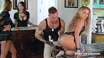 Watch Babes on Wheels: Alexis Crystal & Sofi Goldfinger get inked with MILF Anna Polina, until they start making out with a big hard cock & share their cum finale! Full Video & 100s more at Private.com! preview