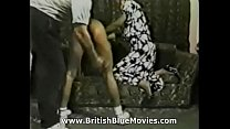 Vintage spanking using a paddle with asian Rustler model Solange Thumbnail