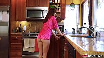 Naughty teen Avery Moon seduces her step dad by...