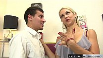 Sarah needs hard cock in her office and down her throat's Thumb