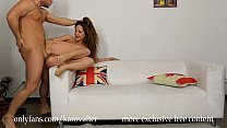 Beauty redhead teenager tries big cock in the a...