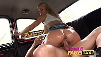 Female Fake Taxi Big tits MIlf Nathaly fucked in cab Thumbnail