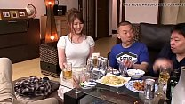 Watch Japanese beautiful wife blows husband's friend in front of husband preview