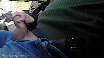 Dick flash - I pull out my cock in front of a y...