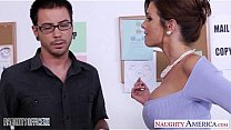 Stockinged Veronica Avluv fuck in the office's Thumb