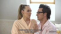 DADDY4K. Guy gets angry when finds his babe and...