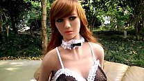 Red haired sex doll 165cm tall