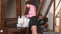 Watch Horny mother in law seduces him preview