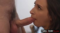 Watch Insatiable brunette slut loves_being treated like a worthless whore preview