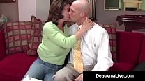 Horny Housewife Deauxma gets a load of Cum from the TaxMan straight In her Mouth after Free Sex for Free Tax help! Major Hot Legal Flick! Full Video &  Live @ DeauxmaLive.com! Thumbnail