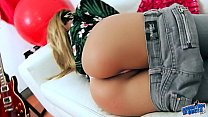 SEXIEST BIG TITS BLONDE BABE has PERFECT BODY a...