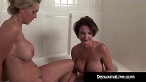 Watch Sexy Mega Milf Deauxma & Lesbian Lover Tanya play in their bathtub while Licking Each Other's Soaking Wet Pussies until they Cum with Pleasure! Full Video & Deauxma Live @DeauxmaLive.com preview