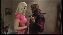Two lesbians with delicious bodies caress each ...