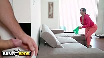 BANGBROS - Latin Maid Rose Monroe Gets Her Big Ass Fucked By Jmac On The Job! Thumbnail