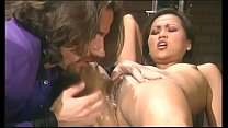 Hot little Asian whore fingers her pussy while ...
