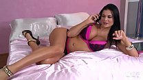 Ultra Fine Jasmine Jae Fucks the daylights out of a Taxi Driver's Thumb