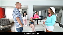 Young Big Ass Hot Babysitters Layla London And Karly Baker Sex With Client As Refund For Non Professionalism Thumbnail