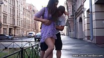 Casual Teen Sex - She gets her brains fucked ou...