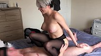 Gorgeous babe fucked hard in tights - kinkycoup...