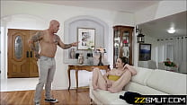 Shameless mother and stepdaughter caught fapping