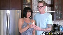 Watch Buddy Hollywood feeds Veronica Avluv his huge cock preview