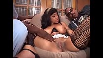 Sexy Mya Rose gets double penetrated by two cho...
