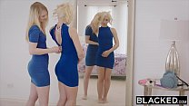 BLACKED Two College Co-Eds Share a BBC's Thumb