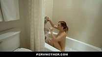 Watch Smoking Hot Stepmom Spreads Her Ginger Pussy For Pervert Son preview