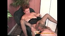 Honry Granny Gets Everybody to Lick Her Pussy