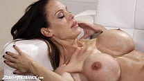 Big Tit Stepmother Takes Care of Stepson's Dick