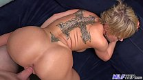 Hot blonde MILF absolutely loves the dick - Part 2