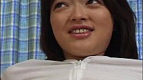 Lovely Rie Mizuno toy insertion action