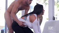 Porn outdoor with beautiful curvy lady and her young neighbor's Thumb