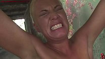 Humiliated and strongly treated, fisted, face s...