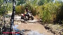 HD Thai teen  goes atving in paradise giving bl...