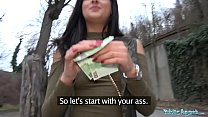 Watch Public Agent Outdoor orgasms for Serbian beauty preview