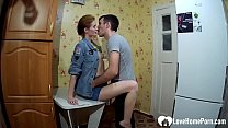 Homemade video of married Russian couple gettin...