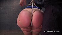 Thick Whore Mandy Muse Gets Ties Up And Abused Thumbnail