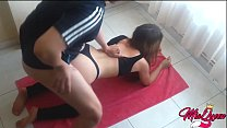 Watch Big booty latina having sex with her best friend for fun preview