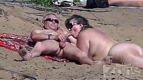 Blowjob on nudist_beach Thumbnail