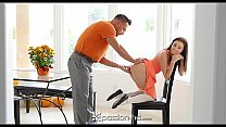 Watch Passion-HD - Guy fucks his step daughter Carolina Sweets on Thanksgiving preview