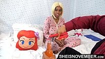 Watch Daddy Taboo Step Family Sex , Skinny Ebony Step Daughter Msnovember In_Hello Kitty Pajamas Young Pussy_Fucked Doggystyle While Mother Is At Work HD On Sheisnovember preview