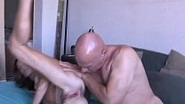 Slim older babe enjoys a hard cock in her tight asshole صورة