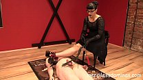 Mixed Torture by Herrin Bestrafung -  Domina enjoys seeing the fear in the eyes of her slave Thumbnail
