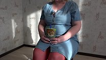 Role-playing game in front of webcam, mature te...