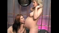 Hot Jessy and slutty Renee Summers are fucking and_licking their cunts Thumbnail